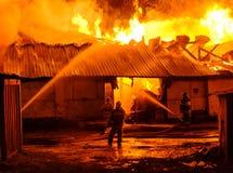 потушите пожарные пожара стоковая фотография rf