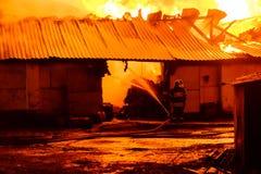 потушите пожарные пожара стоковое изображение rf