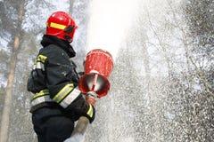 потушите пущу пожара стоковое изображение rf