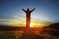 похвалите поклонение Стоковые Фотографии RF