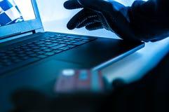Похититель кредитной карточки стоковые фотографии rf