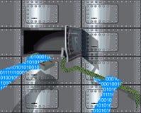 похититель cyber Стоковое фото RF