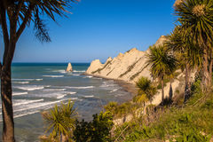 Похитители людей накидки около Napier Новой Зеландии Стоковые Изображения