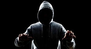 Похититель в ноче Стоковые Фото