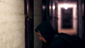Похититель рубя замок сток-видео