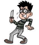 Похититель шаржа Стоковая Фотография RF