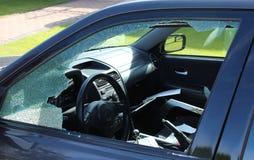 похищение автомобиля стоковое фото