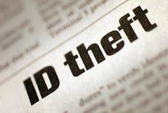 похищение тождественности Стоковая Фотография RF