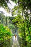 Поход в Коста-Рика Стоковое Изображение RF