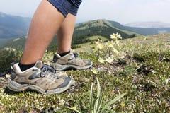 Поход горы Стоковая Фотография RF