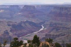 Поход дня в каньонах стоковое фото