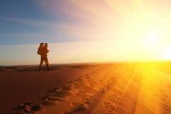 поход пустыни стоковая фотография