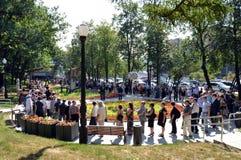 Похоронная валерия Novodvorskaya Стоковые Изображения