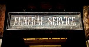Похоронные услуги Стоковые Фото