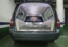 Похоронный автомобиль стоковая фотография rf