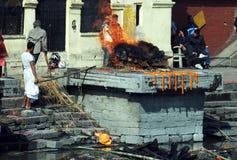 похоронный pyre стоковые изображения