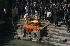 похоронный pyre стоковое фото