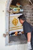 Похороны в Таиланде Стоковая Фотография