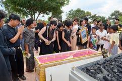 Похороны в Таиланде Стоковое Фото