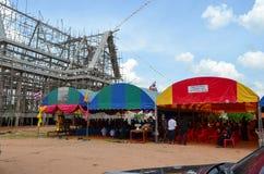 Похороны в Таиланде Стоковые Изображения