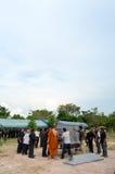 Похороны в Таиланде Стоковая Фотография RF