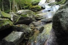 Поход водопада Стоковое фото RF