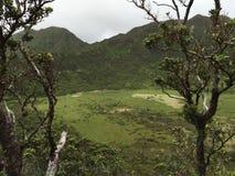 Поход кратера Ka'au Стоковое Изображение RF