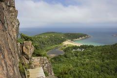 Поход Cliffside Стоковые Фото