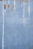 Поцарапанная поврежденная grunge текстура стены металла детальная Стоковое фото RF