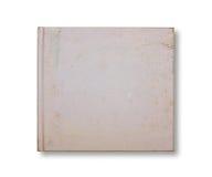 поцарапанная старая тетради пустой крышки Стоковое Фото