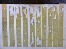 поцарапанная стена Стоковая Фотография RF