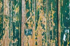 Поцарапанная темнотой стена grunge деревянная текстурированная Старое деревянное острословие текстуры Стоковое Изображение