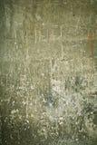 поцарапанная smudged стена Стоковая Фотография