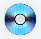 Поцарапанный диск DVD видео- стоковые изображения rf