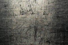 Поцарапанный металлом макрос текстуры Стоковое Изображение RF