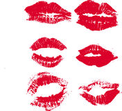 поцелуи Стоковые Фото