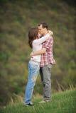 Поцелуй в носе Стоковые Изображения RF