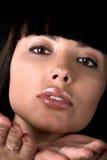 поцелуй девушки воздуха посылает Стоковое Фото