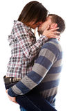 поцелуй длиной Стоковая Фотография RF