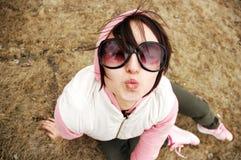 поцелуй осени Стоковые Фото