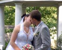 поцелуй романтичный Стоковая Фотография RF
