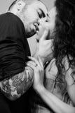 поцелуй Стоковые Изображения