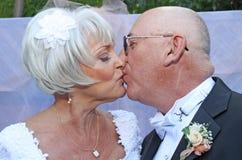 поцелуй Стоковое Фото