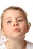 поцелуй Стоковое Изображение RF
