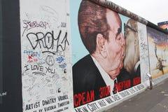 поцелуй berlin Стоковые Изображения RF