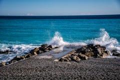 Поцелуй 7 моря стоковая фотография rf