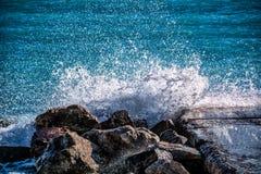 Поцелуй моря стоковое фото