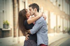Поцелуй Стоковые Изображения RF