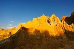 почва горы ландшафта земли Стоковая Фотография