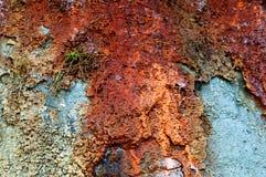Почва глины, смешанная глина, скала моря стоковые изображения rf